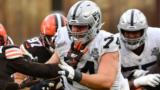 Raiders sign Kolton Miller to three-year contract extension