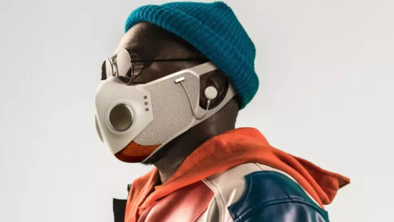 Will.i.am reveals his $299 face mask featuring dual fans, ANC headphones, Bluetooth, and more