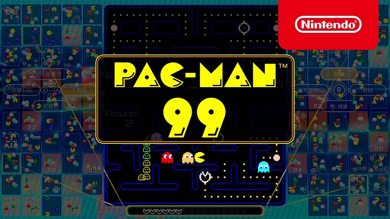 Pac-Man 99 transforms the arcade classic into a modern battle royale game